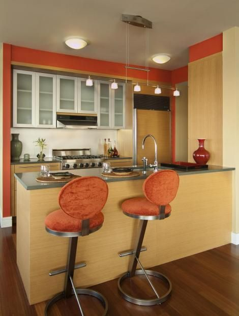 17 best images about inlaw room on pinterest studio for Galley kitchen designs with breakfast bar
