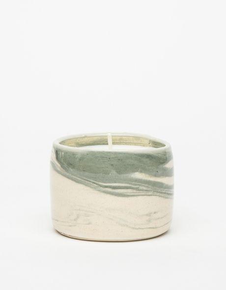 grey cedarwood candle
