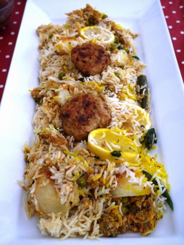 {keema biryani} This Muslim Girl Bakes: Eid-ul-Adha, Homemade Fish Fingers and A Shortbread Recipe: 4 October - 10 October 2014