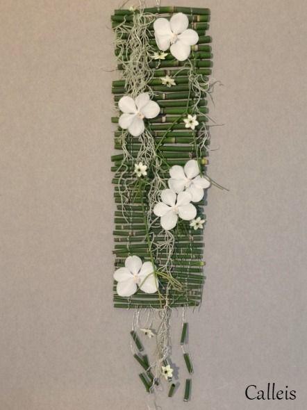 suspension orchidée