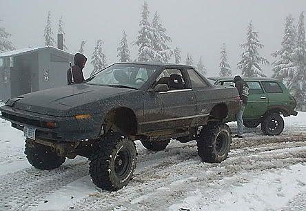 "radracerblog: "" Subaru XT lifted """