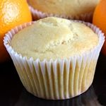 Eggless Vanilla cupcakes with orange juice (and no Ener-G replacer used on this one : )