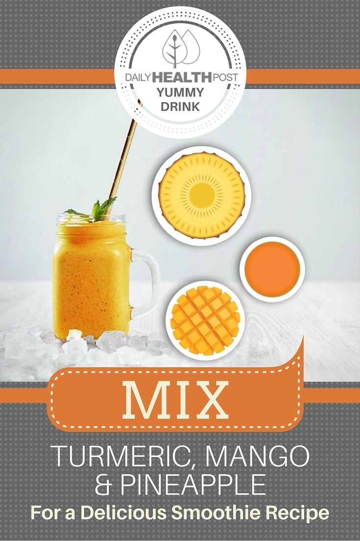 Turmeric is a great spice _ distinctive yet versatile, it_s useful in all sorts of dishes, but isn_t usually used in sweet, dessert like dishes such as turmeric mango smoothie.
