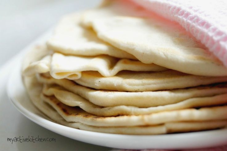Homemade Shawarma Bread (Flour Tortilla)