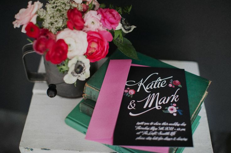 Chalk Inspired Wedding Shoot - Pretty My Party