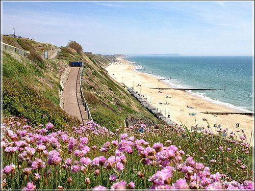 Southbourne Beach, Dorset.