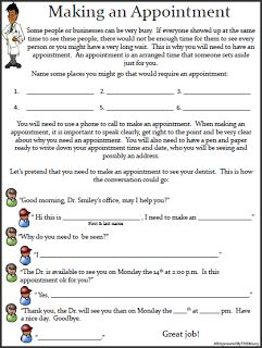 14 Life Skills Worksheets> Including writing a check.