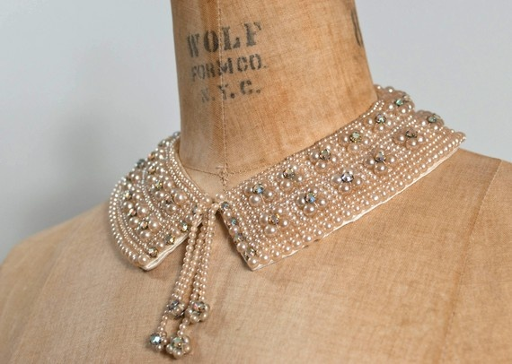 gorgeous beaded collar...