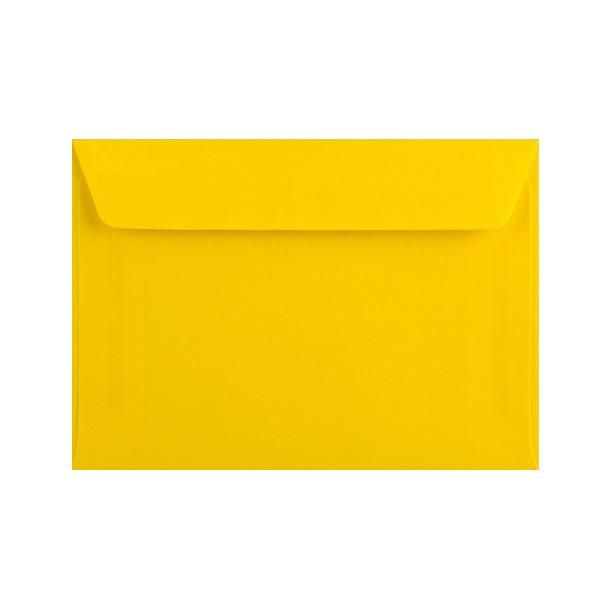 Bright Yellow Wallet Peel & Seal  #red #envelopes #TissueLined #Envelope #silver #Brown #green #purple #Chocolate #reflective