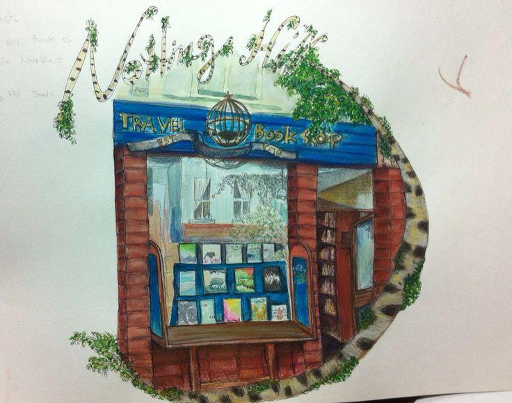 Notting hill - travel book shop(by joyce)