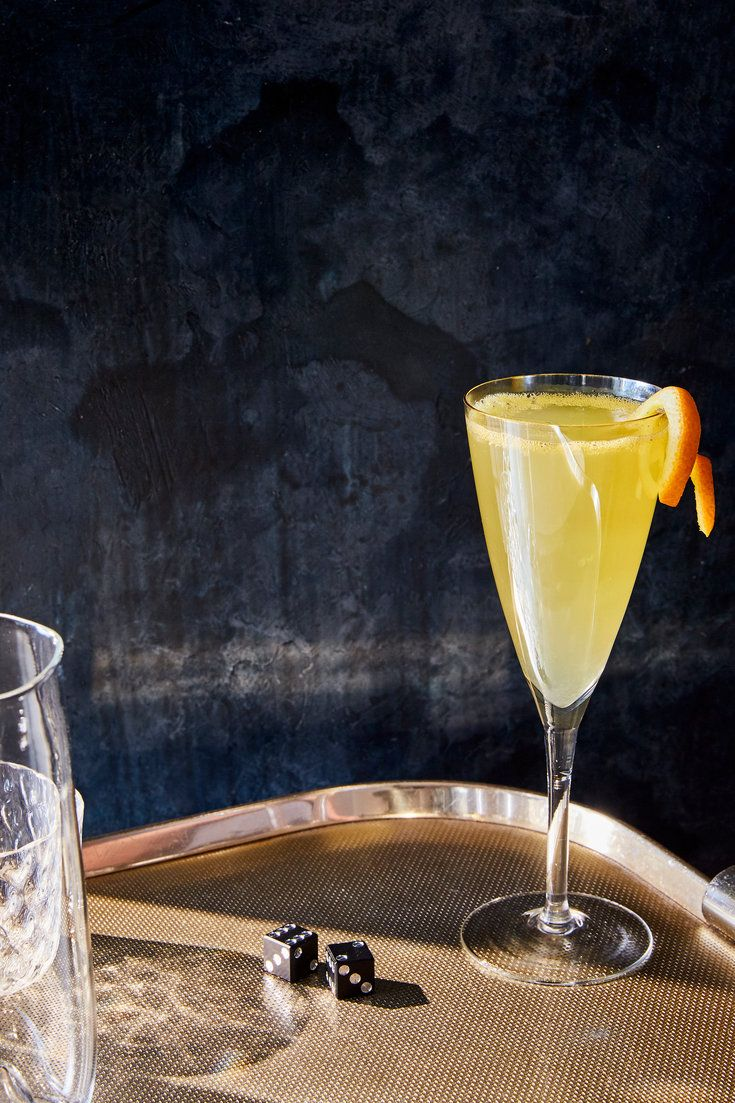 NYT Cooking: Vanilla simple syrup goes a long way to round out and jazz up what would otherwise be just another nonalcoholic cocktail of citrus juice and soda. Served in a Champagne glass, it's pretty, festive and just right for making a toast, minus the booze.