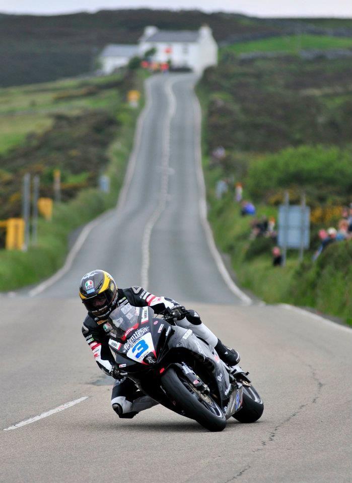 Guy Martin. Isle of Man.