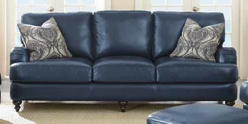 54 Best Blue Leather Sofa Images On Pinterest Leather