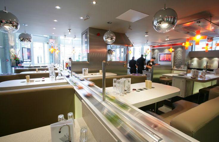 Yo sushi notts launch event pinterest yummy food