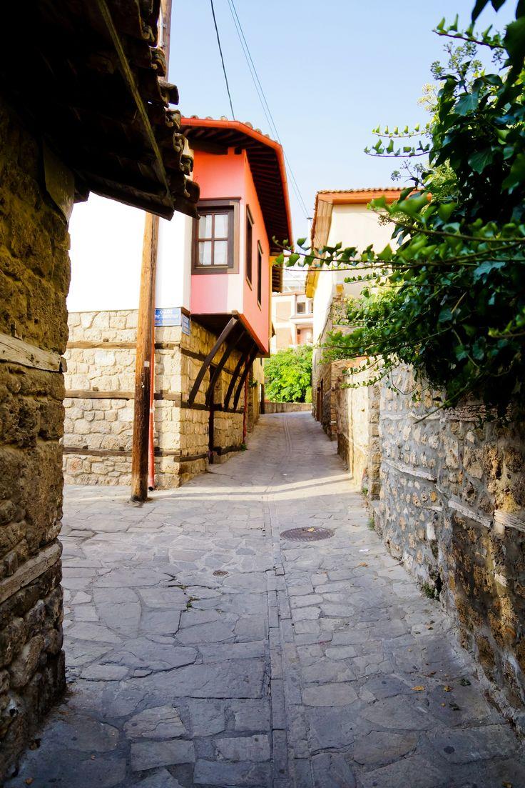 The Jewish neighborhood of Veria, Northern Greece