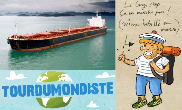 Le guide du voyage en cargo. © Tourdumondiste, © Fernando Souza et © Yves Barraud