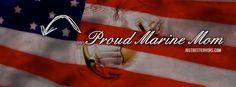 Proud Marine Mom Quotes | Proud Marine Mom Facebook Cover Photo