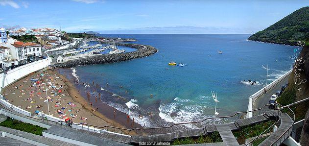 Angra do Heroismo Bay - Terceira Island - Azores - PORTUGAL