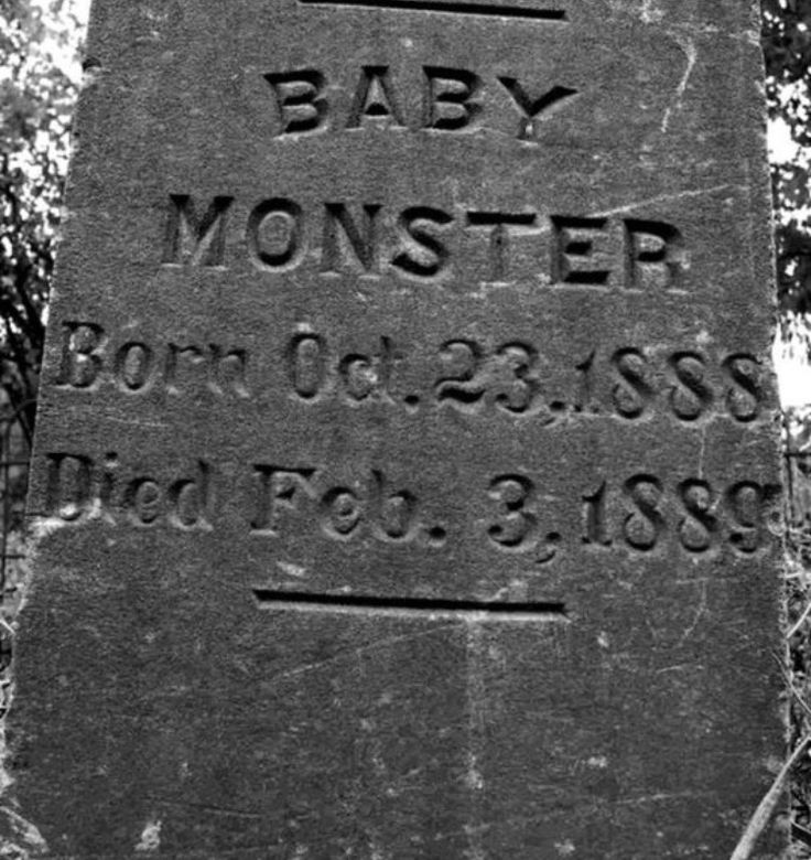 What does this gravestone's inscription mean?