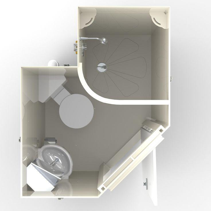 Taplanes: Arran en suite bathroom pod 1 of 2
