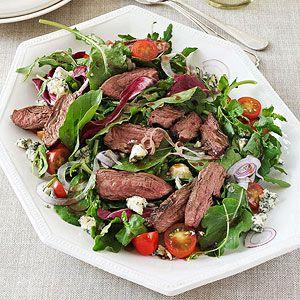 Steak Salad with Maple Balsamic