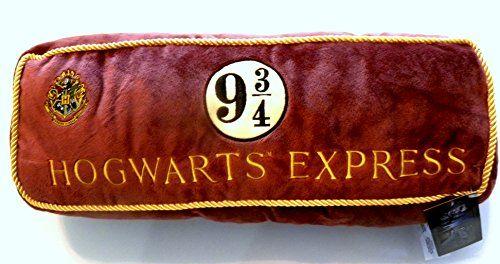 Harry Potter Hogwarts Express 9 3/4 Luxurious Plush Pillow
