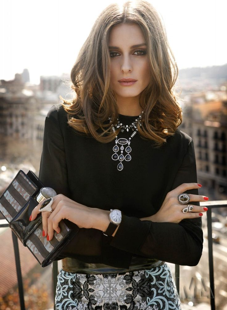 OP l Promod Oliviapalermo, Statement Necklaces, Fashion Style, Beautiful, Style Icons, Hair Style, Fall Outfit, Olivia Palermo, Rabat Magazines: