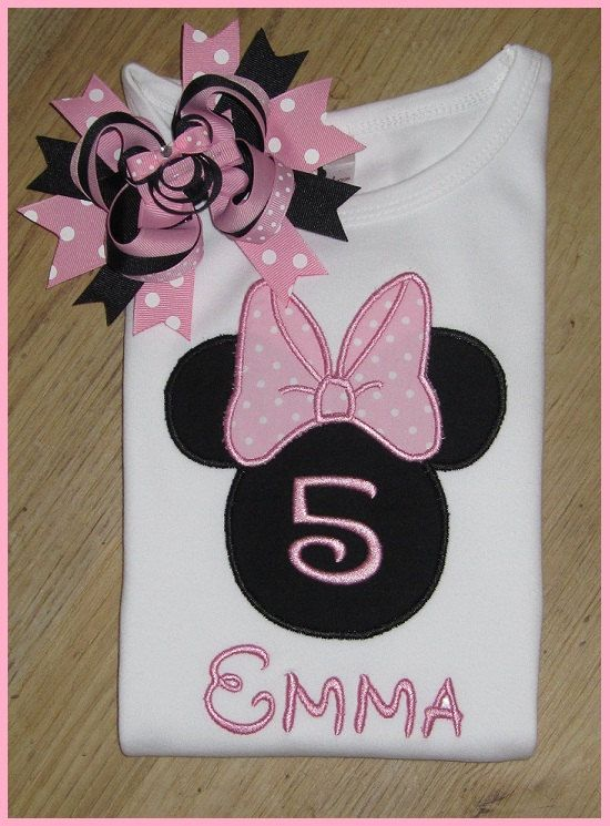 Mini Mouse Birthday Shirts Disney Shirts by SouthernBelleBows, $25.00