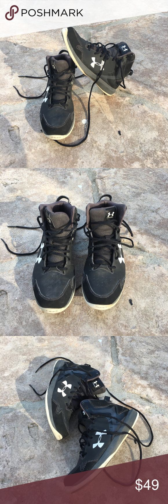 Under Armour Men's High Top Sneakers Excellent condition Under Armour Shoes Sneakers