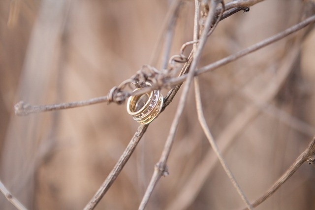 branches with curls add nice dimension to a standard ring shot