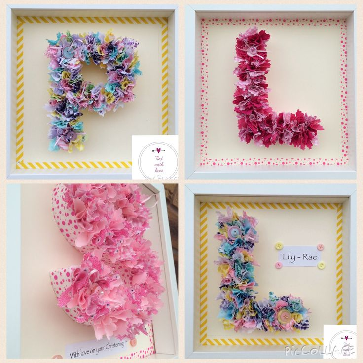 Framed material letters £20 plus postage www.facebook.com/tiedwithlovewreaths