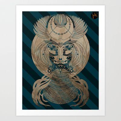 Vindur Art Print by Milena Taranu - $17.68