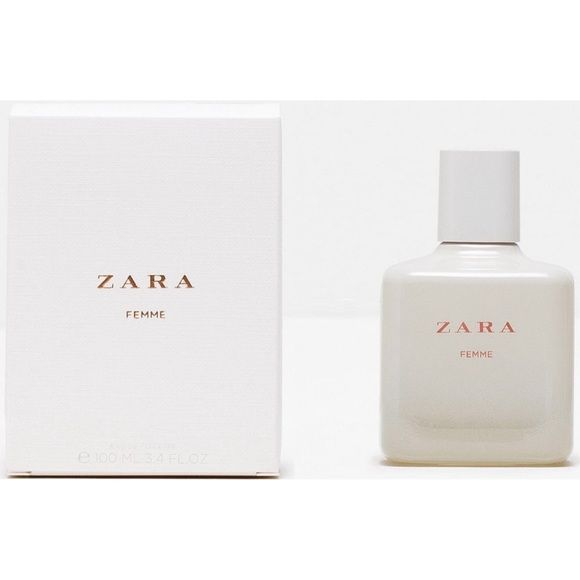 ZARA Femme Perfume Bottle of ZARA Femme Perfume. Unpackaged (came in a 2-pack) but new! Zara Other