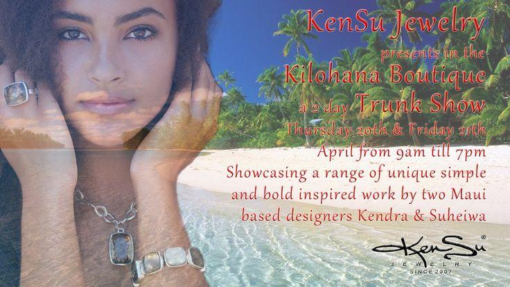 "KenSu Jewelry Maui @ the ""Kilohana Boutique"" Ritz Carlton"