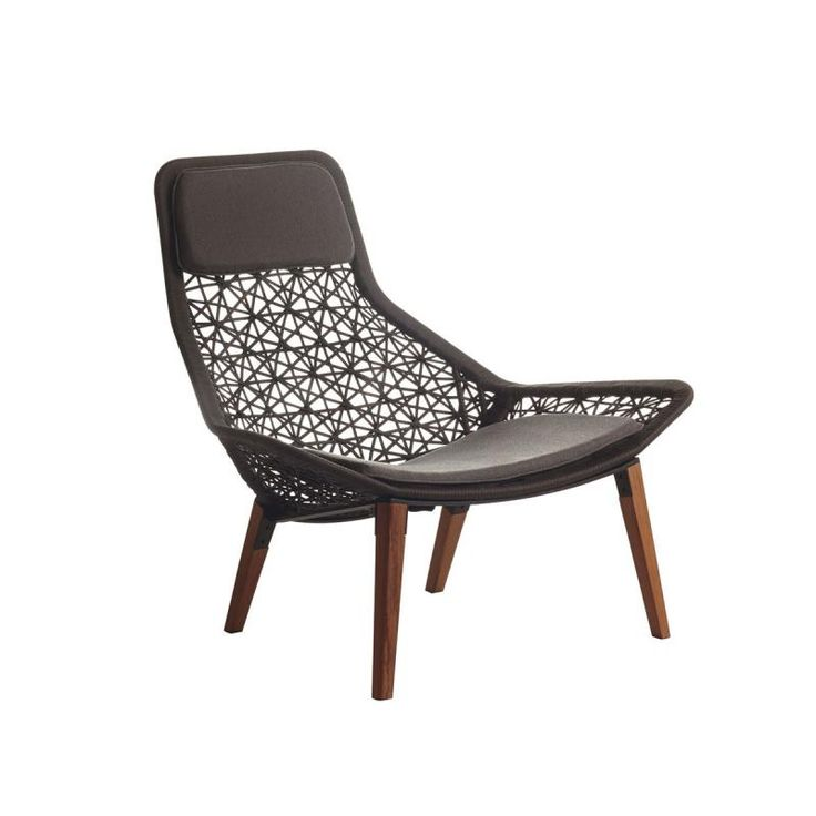 Kettal maia relax armchair by patricia urquiola kettal for Kettal muebles jardin