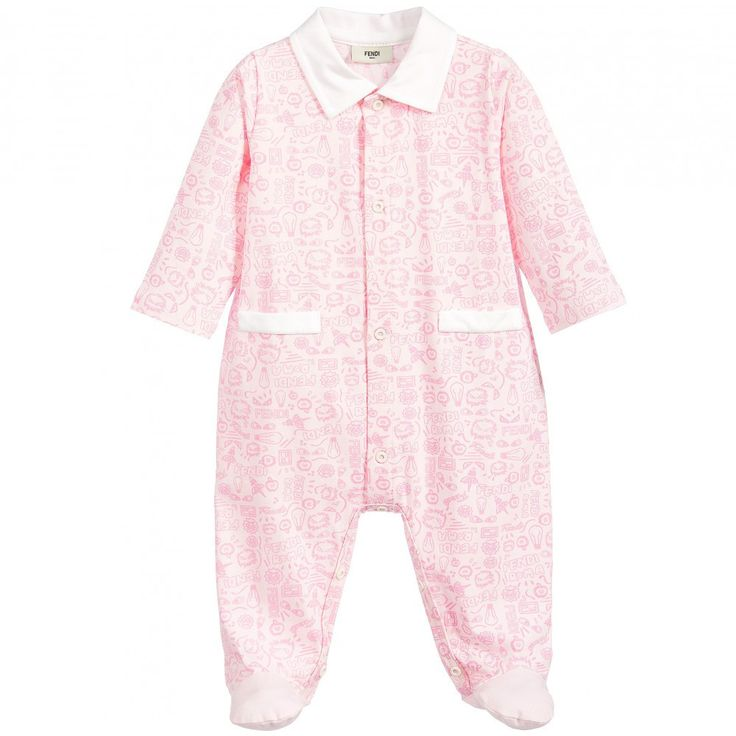 5243d97831ef Soft Pink Baby Girl Sleeper