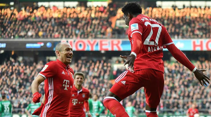 Bundesliga: Werder Bremen 1  2 Bayern Munich