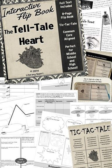 the tell tale heart lesson plans pdf