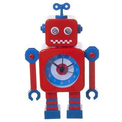 Robot wekkerradio.