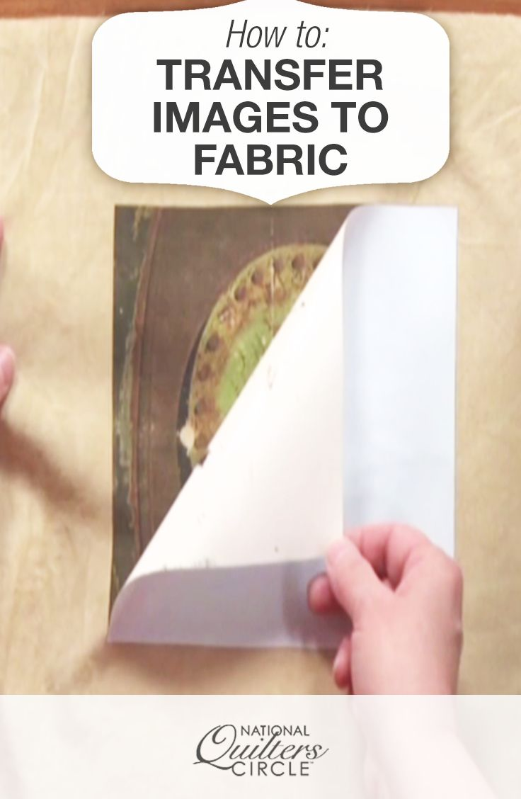 Learn to take a photograph and transfer images to fabric for your quilting project.