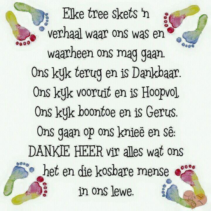 Dankie Heer.