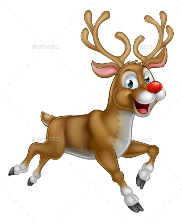 25 best ideas about cartoon reindeer on pinterest