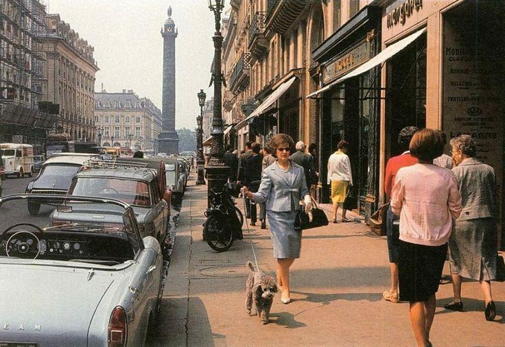 Rue de la Paix - 1955 Photo Willy Ronis