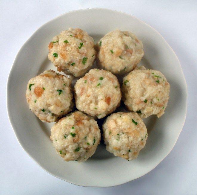 Canederli (Tyrolean Bread Dumplings)