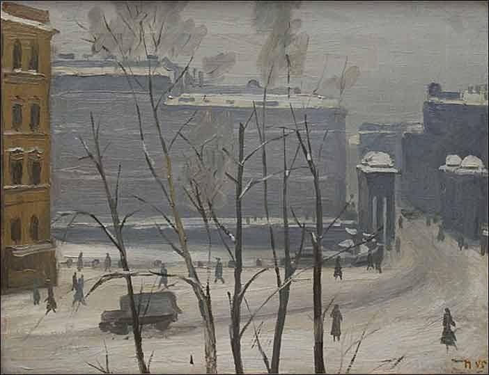 ПакулинВячеслав Пакулин (1901-1951). Чернышев мост. 1945 г. —