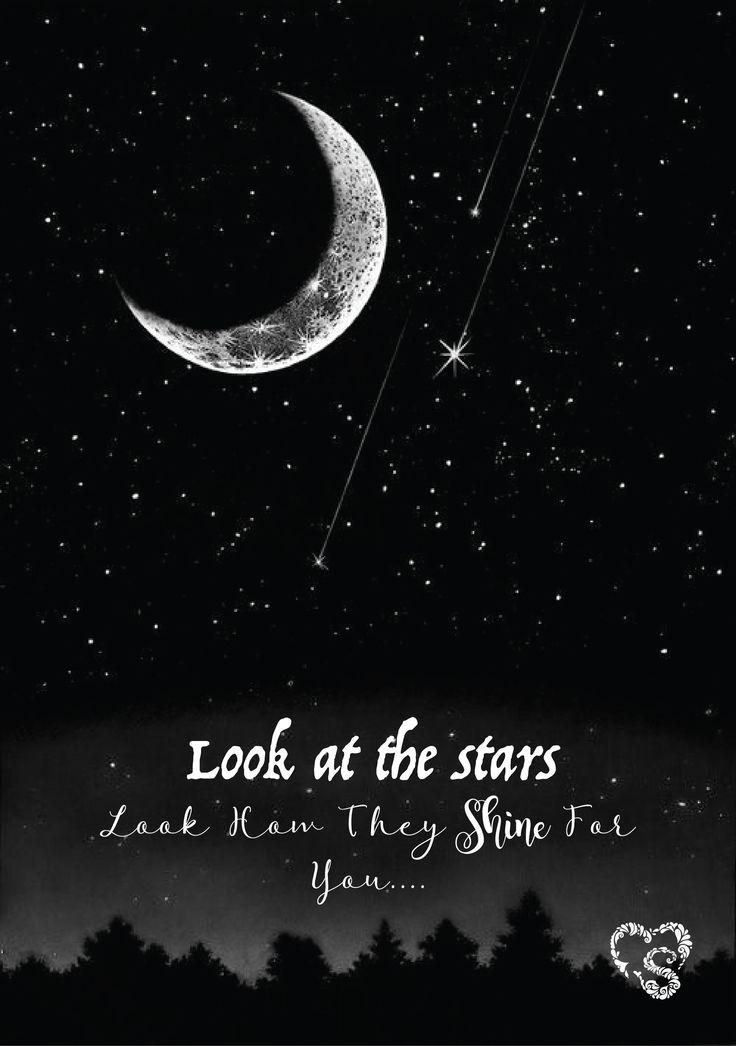 fantacy love moon stars adventure dream art illustration poster