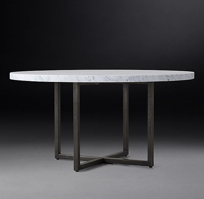 Torano Marble Round Dining Table In 2020 Round Marble Table