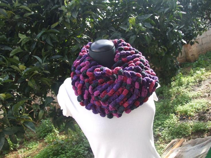 sciarpa viva multicolor, by Le Creazioni Del Bassotto, 10,00 € su misshobby.com