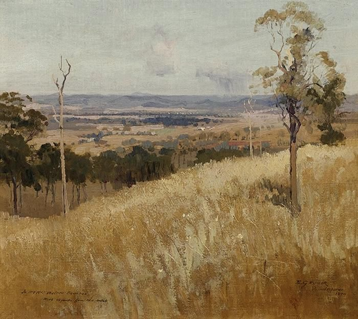 Lindisfarne, New South Wales 1920 elioth gruner