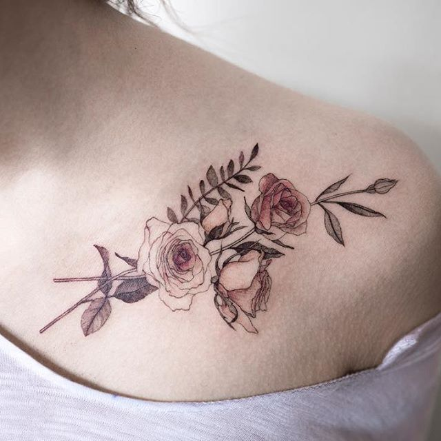 rose  #rosetattoo #flowertattoo #colortattoo #tattoo #tattoos #ink #hongdam #tattooisthongdam #장미타투 #꽃타투 #컬러타투 #타투 #홍담 #타투이스트홍담